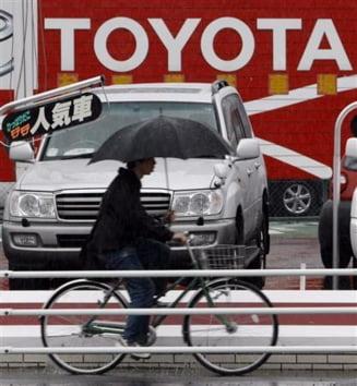 Toyota a inregistrat pierderi de 1,4 miliarde de dolari