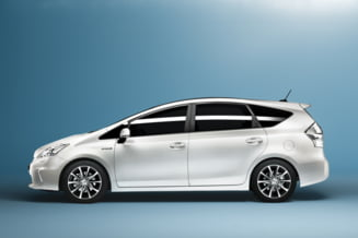 Toyota lanseaza Prius cu sapte locuri
