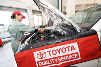Toyota recheama in service 2.000 de masini vandute in Romania
