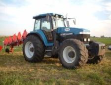 Tractor ghidat de sateliti, in Romania