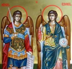Traditii de Sfintii Arhangheli Mihail si Gavriil! Ce este bine sa faci in aceasta zi