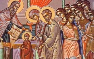 Traditii la Intrarea Maicii Domnului in Biserica, sarbatoarea religioasa din 21 noiembrie. Credinciosii au dezlegare la peste