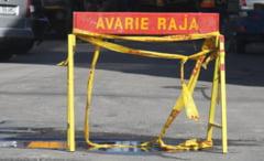 Trafic auto restrictionat pe Bd. Mamaia, din cauza unei avarii la conducta de apa