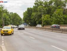 Trafic blocat pe DN1, la intrarea in Bucuresti, in urma unui accident si dupa ce soseaua a fost inundata