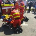 Trafic blocat pe E85 în localitatea Pufești: 6 victime în urma acroșării unei căruțe de către un autoturism