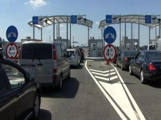 Trafic dat peste cap la frontiera cu Ungaria. Se asteapta doua ore la Nadlac II