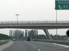 Trafic deviat pe A2 prin Cernavoda, din cauza unui accident (Video)