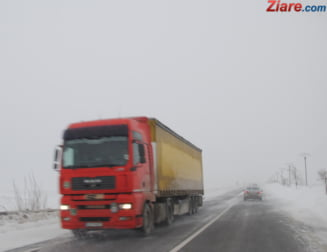 Trafic infernal din cauza zapezii din plina primavara: Coloane de masini de 6 kilometri pe DN1