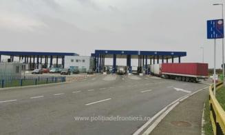 Trafic ingreunat la punctul de trecere a frontierei Calafat-Vidin