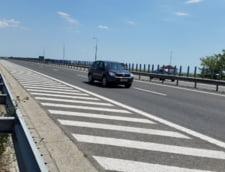 Trafic oprit pe Autostrada Soarelui, din cauza unui accident. S-a format coloana de masini de doi kilometri