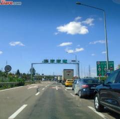 Trafic provocator, la inceput de weekend: Aglomeratie pe Autostrada Soarelui, dar si la granita cu Bulgaria