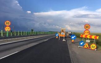 Trafic restrictionat pe A2, pe raza municipiului Fetesti