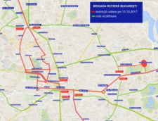 Trafic restrictionat pe mai multe strazi din Capitala, pentru Maratonul Bucuresti
