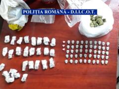 Traficanti de droguri de mare risc retinuti in Bucuresti. Sunt apropiati ai clanului Preda