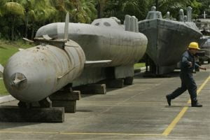 Traficantii columbieni transporta cocaina cu submarinul