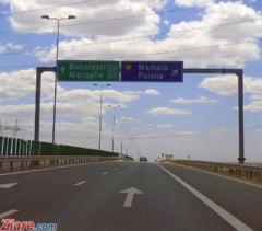 Traficul a fost deviat pe Autostrada A2 Bucuresti - Constanta