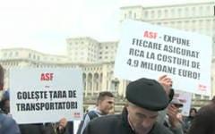 Traficul din Bucuresti va fi un cosmar joi: Un protest al transportatorilor blocheaza tot