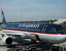 Traficul liniei aeriene US Airways a scazut in februarie cu 9,3%