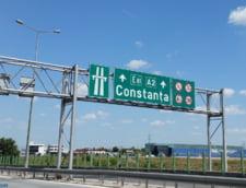 Traficul pe Autostrada Soarelui este in continuare deviat din cauza cisternei cu kerosen rasturnate