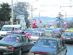 Traficul rutier, dat peste cap de Black Friday