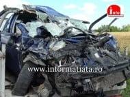 Tragedie! Un barbat si-a pierdut viata intr-un grav accident rutier, in localitatea Sasca