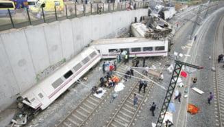 Tragedie feroviara in Spania: Primele imagini si primii vinovati (Video)