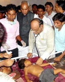 Tragedie in India: 21 de copii morti, din cauza mancarii de la scoala