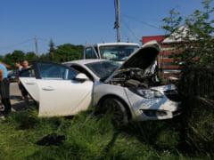 Tragedie in Vaslui: tata a 10 copii a murit intr-un accident rutier. Conducea un autoturism cu volan pe dreapta adus din Marea Britanie