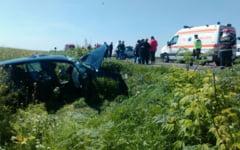 Tragedie in ziua de Paste: o femeie a murit intr-un accident rutier la iesirea din Slobozia, iar alte sase persoane au fost grav ranite