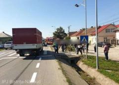 Tragedie la Bistrița-Năsăud: o femeie de 83 de ani accidentată mortal pe trecerea de pietoni