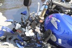 Tragedie pe o sosea din Caras-Severin. Un barbat a murit in urma unui accident de motocicleta