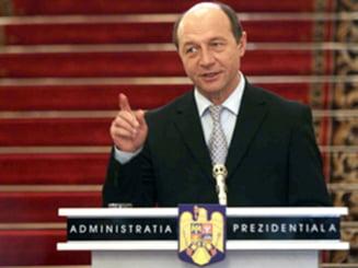 Traian Basescu: Am adoptat cea mai buna solutie