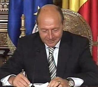 Traian Basescu: Fac apel la sindicate sa isi amane protestele