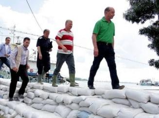 Traian Basescu: Galatiul nu va fi inundat