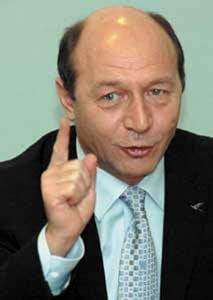 Traian Basescu: Geoana si primarul din Dabuleni au inteles gresit