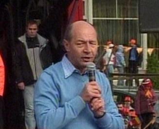 Traian Basescu: Mandatul meu a fost unul greu, vreau sa-mi indrept erorile