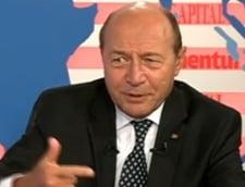 Traian Basescu: Nu poti sa blochezi in fiecare duminica bulevardele Capitalei