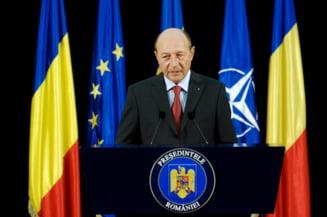 Traian Basescu: Poate ca a trecut vremea mea sa fiu prim-ministru