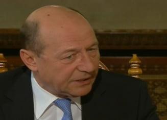 Traian Basescu: Presedintia, cea mai umilitoare perioada din viata mea