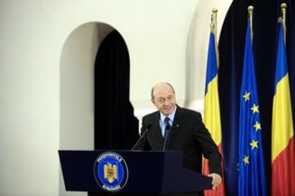Traian Basescu: Sunt in campanie doar pentru ca exist (Video)