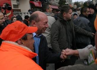 Traian Basescu: Vreau un Guvern cu PNL