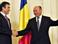 Traian Basescu, discutii la Cotroceni cu secretarul general al NATO