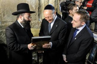 Traian Basescu, in Israel: Le vom da inapoi evreilor proprietatile luate de comunisti