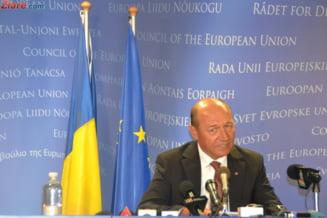 Traian Basescu, la Bruxelles: Am fost primit ca intre prieteni (Video)
