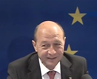 Traian Basescu, la reuniunea informala a Consiliului European