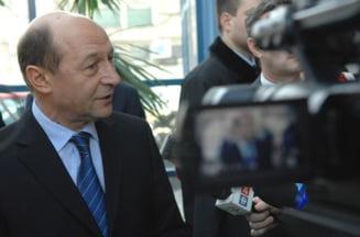 Traian Basescu, o tinta falsa