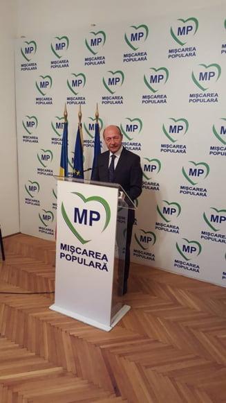 Traian Basescu, premier? Ce spune fostul presedinte