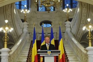 Traian Basescu, suspendat pentru unicul sau merit (Opinii)