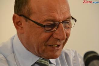 Traian Basescu a fost ales presedinte de onoare al unui partid unionist din Republica Moldova