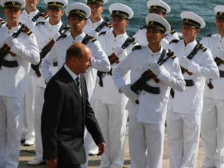 Traian Basescu a lipsit, pentru prima oara, de la Ziua Marinei
